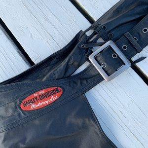 EUC Harley Davidson XL leather chaps